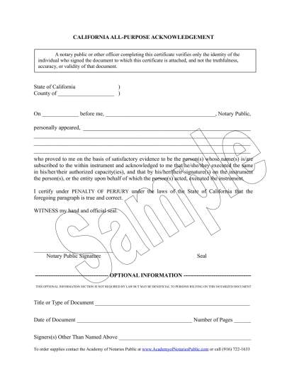 Notary Public Tools and Supplies -